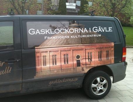 Bil med gasklocka low  137