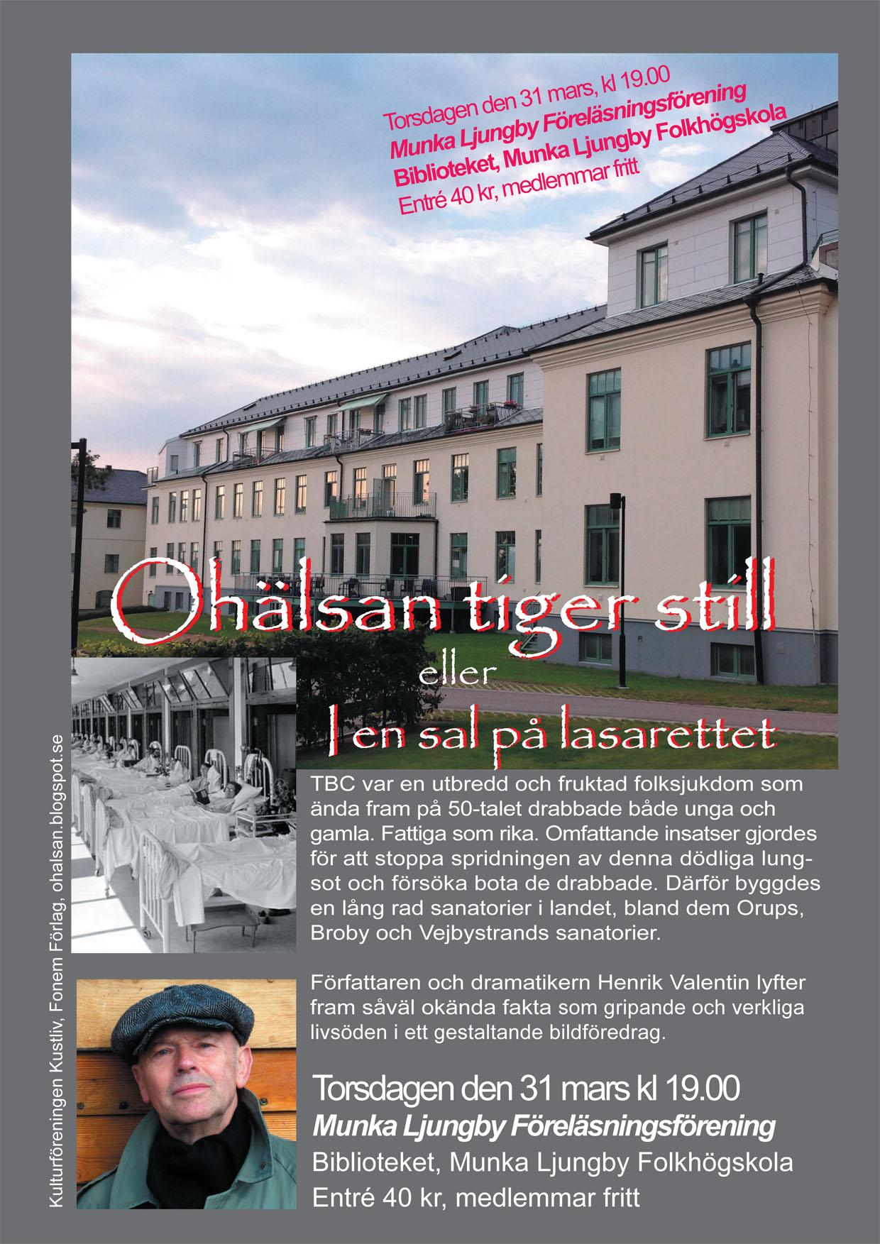Affisch Munka Ljungby