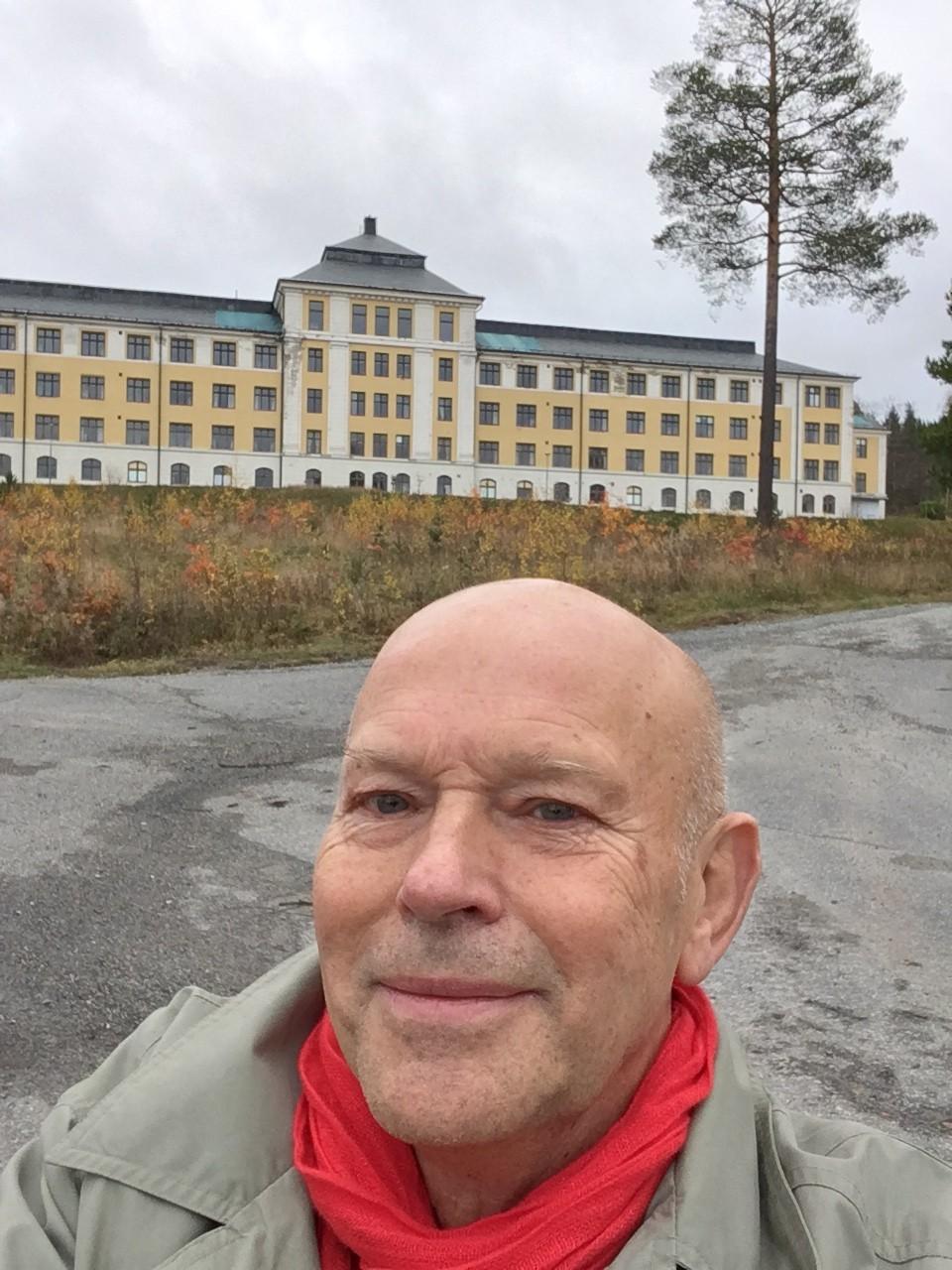 henrik Valentin vid Hällnäs okt 2017